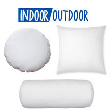 pillow forms. new round euro pillow form insert-all sizes!!- made in usa forms