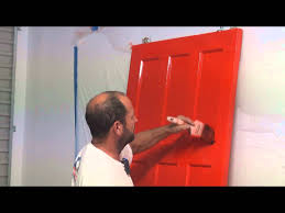 How To how to paint a door with a roller images : How To Paint A Panel Door - How to brush paint an interior paneled ...