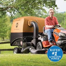 riding mower leaf vacuum. Plain Riding DR Leaf And Lawn Vacuum In Riding Mower
