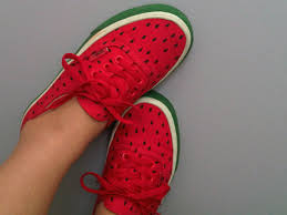 red vans shoes for girls. shoes cute vans watermelon print fruits street original funny swag fashion girl girly earphones red for girls c