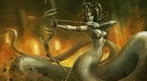 fantasy art artwork medusa dota 2 wallpapers hd desktop and