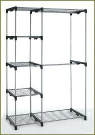 double rod freestanding closet whitmor extender chrome closet shelves rod system storage rack whitmor double deluxe freestanding instructions s