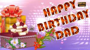 Happy Birthday Dad Wisheswhatsapp Videogreetingsanimationquotes For Father Kaushik Venkatesh