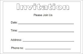 Invitation Outline Invitations Outline Solahub Ruralco Template