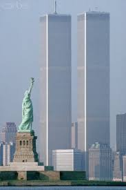 Image result for world trade centers and statue of liberty image