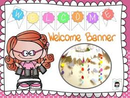 Sample Welcome Banner Welcome Banner Sample By Colour Your World Teachers Pay Teachers