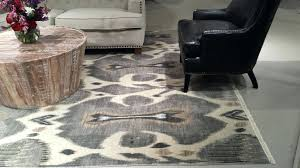 attractive area rug fabulous home depot rugs ikat diamond blue cream