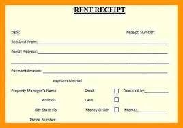 Rent Receipt Format Uk Annauniversityresults Club