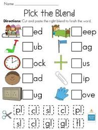 A phonics blend occurs when you have two or more letters appearing together and you can hear each sound that each consonant would normally make. L Blends Worksheet Teachers Pay Teachers