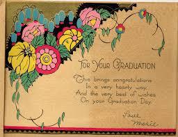 Caroline Graduation Card From Marie