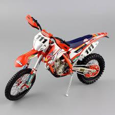 1 12 mini scale moto ktm exc f 350 redbull factory race team