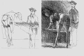 Degas Sketching Model Homage To Degas