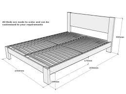 Width Of King Headboard Bed Frame Stunning Dimensions Of A King Size Bed Frame King Size