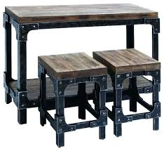 bistro style table small round pub set