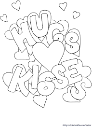 See more of free printable coloring pages on facebook. Xoxo Hugs Kisses Valentine Jpg 800 1 100 Pixels Valentines Day Coloring Page Printable Valentines Coloring Pages Valentine Coloring Pages