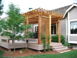 Pergola Design Marvelous Pergola On Deck Plans With Decorating