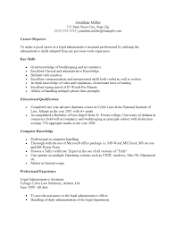Executive Assistant Key Skills Administrative Resume For Admission