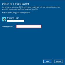 a microsoft account on windows 10