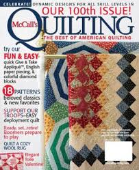 McCall's Quilting Magazine Media Kit Info & McCall's Quilting Magazine Adamdwight.com