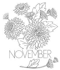Small Picture November Coloring Page Coloring Book