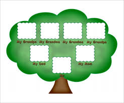 famiy tree kids family tree template 10 free sample example format