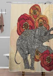 awesome shower curtain. Trendy Inspiration Ideas Deny Shower Curtain Awesome Elephant Curtains
