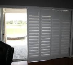 full size of sliding glass door curtain ideas how to install plantation shutters on sliding doors