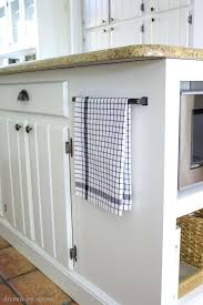 Kitchen Island With Microwave Drawer Handle Used To Hold Towel On  In96