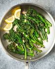 broccolini sauted with olive oil and garlic
