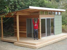 home office pod. Stupendous Outdoor Home Office Pod This Vashon Island Client Office: Full Size