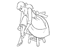 Cinderella Coloring Pictures Colouring Pages Free Coloring Printable