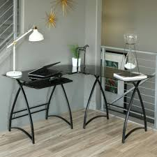 glass top office table chic. Glass Top Office Table Chic. Perfect Chic Stunning Design Using L