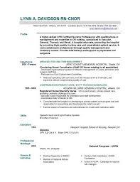Curriculum Vitae For Nurses Magnificent Resume Template Nursing Graduate Nurse Templates Gfyork Com 48