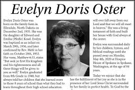 Evelyn Oster | Courier-Herald
