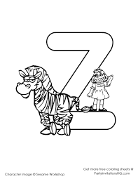 Small Picture Sesame Street Number 2 Coloring Sheets Coloring Coloring Pages
