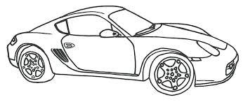 Coloriages Porsche Carrera Colorier Fr Hellokids Com Coloriages