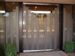 modern frosted glass doors