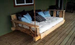 12 DIY Swing Bed ideas to enjoy floating in mid-air