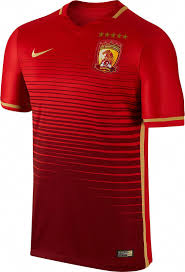 Best Football Jersey Design 2018 The New Guangzhou Evergrande 2016 Home Kit Boasts A Stunning