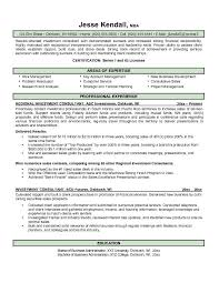 Financial Services Consultant Cover Letter