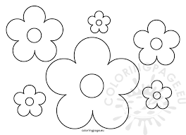 Paper Flower Pattern Classy Paper Flowers Pattern Coloring Page