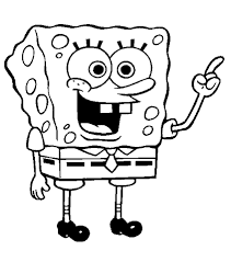 Small Picture Coloring Pages For Kids Spongebob Free Cartoon Coloring pages of