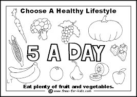 Small Picture Coloring Page Healthy Foods Coloring Pages Coloring Page and