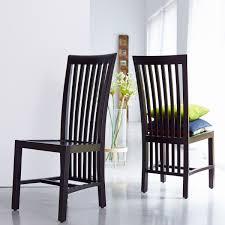 modern black wood dining chairs room ideas