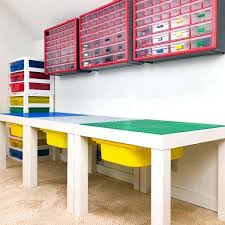 diy lego table with drawers