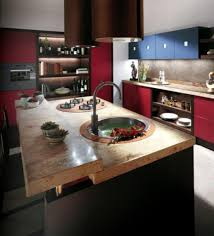 image cool kitchen. Exellent Image The Best Cool Kitchen Designs In Western Country Idea In  Red And Black To Image
