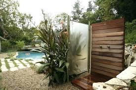 outdoor beach shower accessories