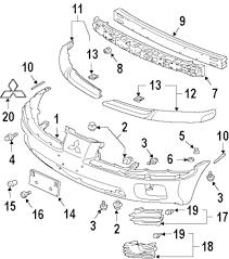 Mitsubishi Motors Parts Diagram