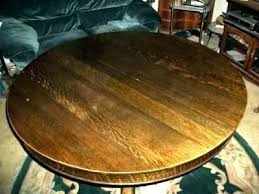 antique round pedestal dining table inch round