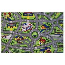 fun time driving fun multi 4 ft x 7 ft area rug